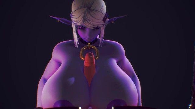 Massive boob job