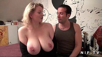 Large boobed french milf gazoo drilled