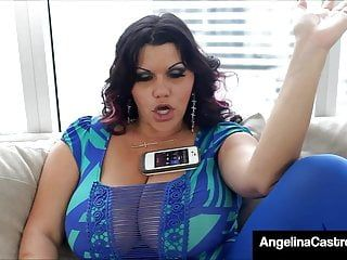 Massive titty latin babe angelina castro darksome dicked by latino penis