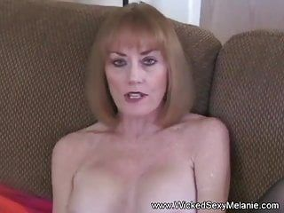 Blond non-professional gilf with large boobs homemade sex tape