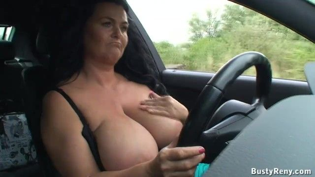 Milk shakes hanging whilst driving