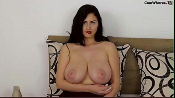 Giant breasts on bulgarian hotty