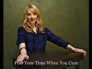 Melissa rauch jerk off defiance moaning, celebrity, milk sacks