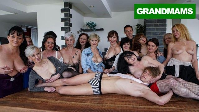 Huge granny fuck fest part 1