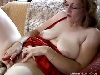 Frigging cute overweight milf has worthwhile large whoppers and a corpulent wet